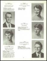 1958 Clarence High School Yearbook Page 26 & 27