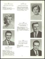1958 Clarence High School Yearbook Page 34 & 35