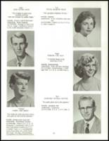 1958 Clarence High School Yearbook Page 36 & 37