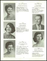1958 Clarence High School Yearbook Page 38 & 39