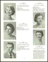 1958 Clarence High School Yearbook Page 40 & 41
