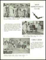 1958 Clarence High School Yearbook Page 80 & 81