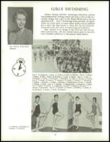 1958 Clarence High School Yearbook Page 100 & 101