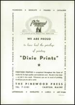 1955 Dixfield Seventh Day Adventist School Yearbook Page 54 & 55