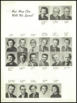 1958 Marshall High School Yearbook Page 12 & 13