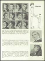 1958 Marshall High School Yearbook Page 18 & 19