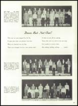 1958 Marshall High School Yearbook Page 42 & 43