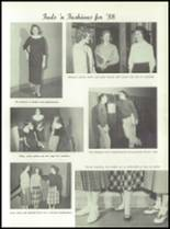 1958 Marshall High School Yearbook Page 48 & 49