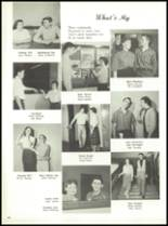 1958 Marshall High School Yearbook Page 52 & 53