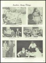 1958 Marshall High School Yearbook Page 56 & 57