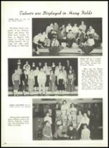 1958 Marshall High School Yearbook Page 66 & 67