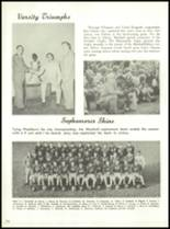 1958 Marshall High School Yearbook Page 76 & 77