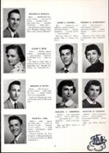 1955 Nazareth Area High School Yearbook Page 14 & 15