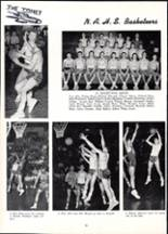 1955 Nazareth Area High School Yearbook Page 90 & 91