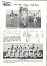 1955 Nazareth Area High School Yearbook Page 94 & 95