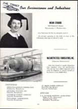 1955 Nazareth Area High School Yearbook Page 104 & 105
