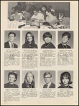 1970 Bloomfield High School Yearbook Page 56 & 57