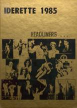 1985 Yearbook Ider High School