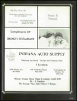 1983 Indiana Area High School Yearbook Page 248 & 249