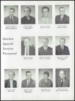 1962 Dundee Community High School Yearbook Page 10 & 11