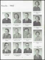1962 Dundee Community High School Yearbook Page 16 & 17