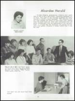 1962 Dundee Community High School Yearbook Page 34 & 35