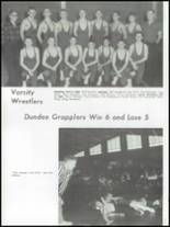 1962 Dundee Community High School Yearbook Page 110 & 111
