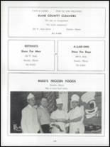 1962 Dundee Community High School Yearbook Page 144 & 145
