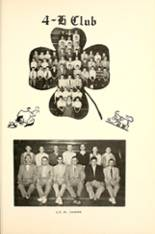 1955 Walnut Grove High School Yearbook Page 124 & 125