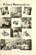 1955 Walnut Grove High School Yearbook Page 126 & 127