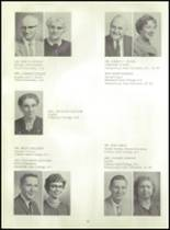 1963 Eisenhower High School Yearbook Page 16 & 17