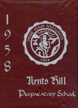 1958 Yearbook Kents Hill School