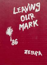 1986 Yearbook Pine Bluff High School