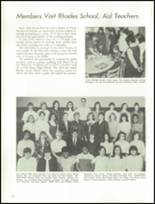 1968 Proviso East High School Yearbook Page 128 & 129