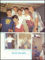 1986 Auburndale High School Yearbook Page 16 & 17