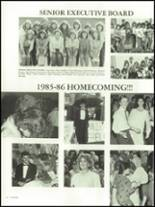 1986 Auburndale High School Yearbook Page 52 & 53