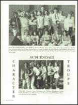 1986 Auburndale High School Yearbook Page 218 & 219