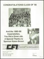 1986 Auburndale High School Yearbook Page 244 & 245