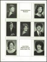 1986 Auburndale High School Yearbook Page 252 & 253