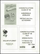 1986 Auburndale High School Yearbook Page 260 & 261