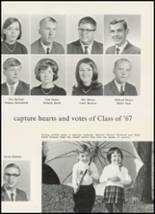 1967 High Point Central High School Yearbook Page 70 & 71