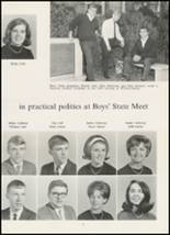 1967 High Point Central High School Yearbook Page 74 & 75