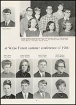 1967 High Point Central High School Yearbook Page 98 & 99