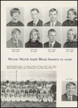 1967 High Point Central High School Yearbook Page 108 & 109