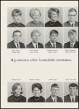 1967 High Point Central High School Yearbook Page 110 & 111