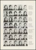 1967 High Point Central High School Yearbook Page 124 & 125