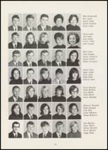 1967 High Point Central High School Yearbook Page 128 & 129