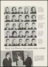 1967 High Point Central High School Yearbook Page 130 & 131