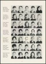 1967 High Point Central High School Yearbook Page 134 & 135