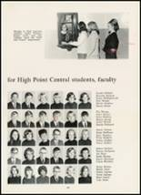 1967 High Point Central High School Yearbook Page 142 & 143